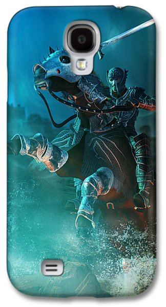 Fight Digital Art Galaxy S4 Cases - For King and Country Galaxy S4 Case by Karen K
