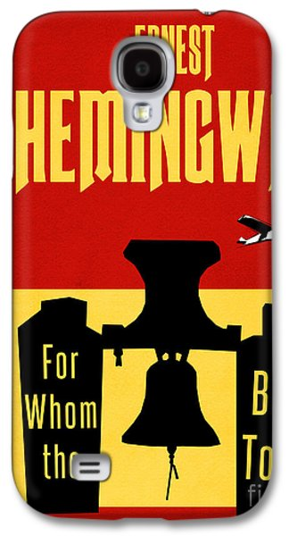 For Whom The Bell Tolls Book Cover Poster Art 1 Galaxy S4 Case by Nishanth Gopinathan