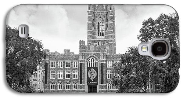 Fordham University Keating Hall Galaxy S4 Case by University Icons
