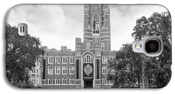 Special Occasion Photographs Galaxy S4 Cases - Fordham University Keating Hall Galaxy S4 Case by University Icons