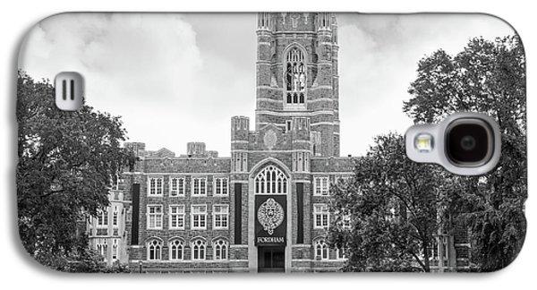 Alumni Galaxy S4 Cases - Fordham University Keating Hall Galaxy S4 Case by University Icons