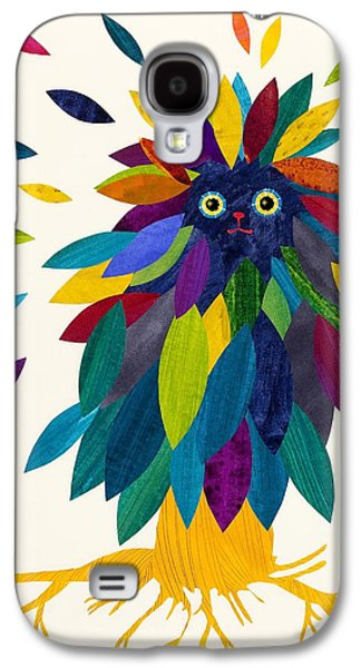 Tree Roots Mixed Media Galaxy S4 Cases - Forest Cover Galaxy S4 Case by Anne Vasko