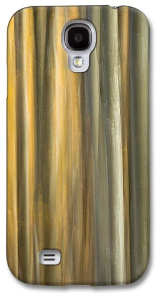 Contemplative Photographs Galaxy S4 Cases - Forest impressions - Autumn Galaxy S4 Case by Antun Cerovecki