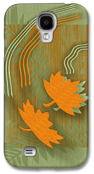 Ben Gertsberg Digital Art Galaxy S4 Cases - Forever Leaves Galaxy S4 Case by Ben and Raisa Gertsberg