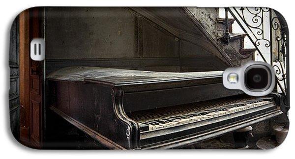 Creepy Galaxy S4 Cases - Forgotten Ancient Piano - Abandoned Building Galaxy S4 Case by Dirk Ercken