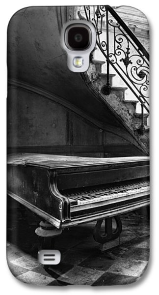 Ancient Galaxy S4 Cases - Forgotten Ancient Piano - Urban Decay Galaxy S4 Case by Dirk Ercken