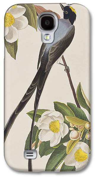 Fork-tailed Flycatcher  Galaxy S4 Case by John James Audubon