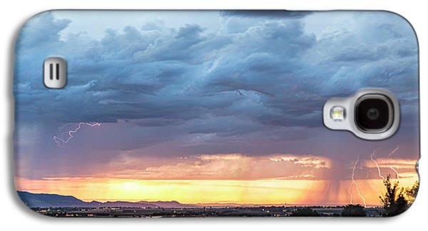 Fort Collins Colorado Sunset Lightning Storm Galaxy S4 Case by James BO Insogna