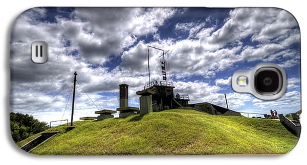 Sullivan Galaxy S4 Cases - Fort Moultrie Bunker Galaxy S4 Case by Dustin K Ryan