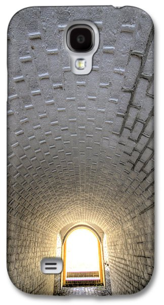 Sullivan Galaxy S4 Cases - Fort Moultrie Bunker Tunnel Galaxy S4 Case by Dustin K Ryan