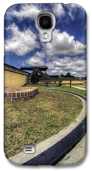 Sullivan Galaxy S4 Cases - Fort Moultrie Cannon Rails Galaxy S4 Case by Dustin K Ryan