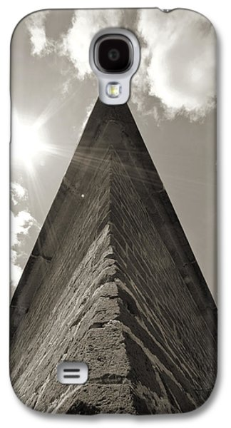 Sullivan Galaxy S4 Cases - Fort Moultrie Defense Wall Sullivans Island SC Galaxy S4 Case by Dustin K Ryan