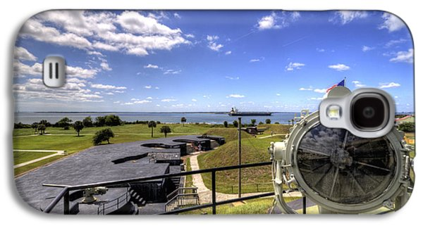 Sullivan Galaxy S4 Cases - Fort Moultrie Signal Light Galaxy S4 Case by Dustin K Ryan