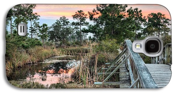 Florida Panhandle Galaxy S4 Cases - Fort Pickens Nature Trails Galaxy S4 Case by JC Findley