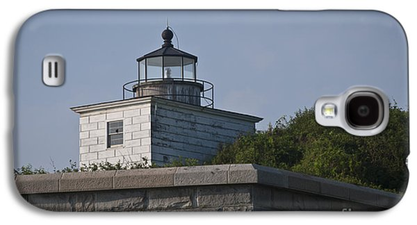 Civil War Site Galaxy S4 Cases - Fort Taber Lighthouse Galaxy S4 Case by David Gordon