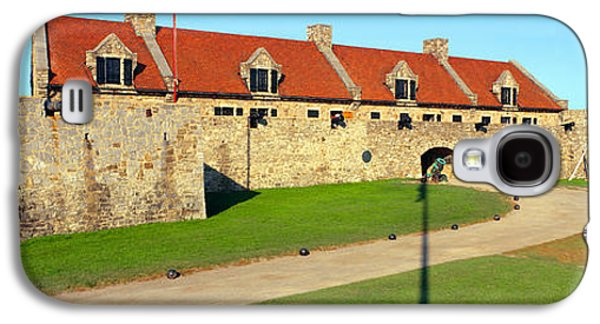 Component Photographs Galaxy S4 Cases - Fort Ticonderoga, Lake Champlain, New Galaxy S4 Case by Panoramic Images