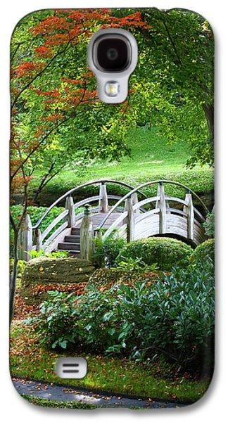 Fens Galaxy S4 Cases - Fort Worth Botanic Garden Galaxy S4 Case by Joan Carroll