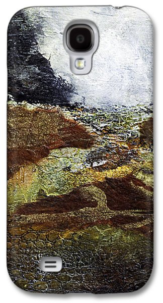 Earth Tones Galaxy S4 Cases - Eruption Galaxy S4 Case by Barb Pearson