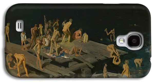 Forty Two Kids Galaxy S4 Case by George Wesley Bellows