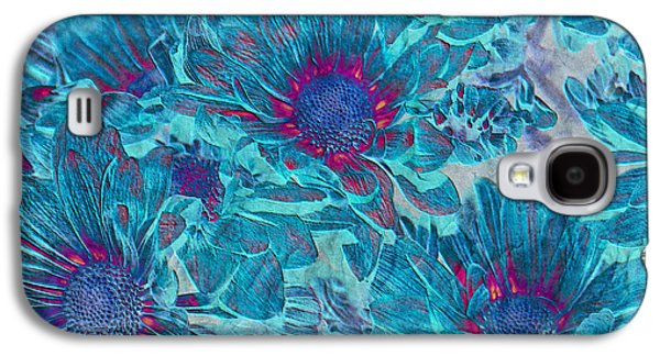 Texture Floral Galaxy S4 Cases - Foulee de petales - a01t Galaxy S4 Case by Variance Collections
