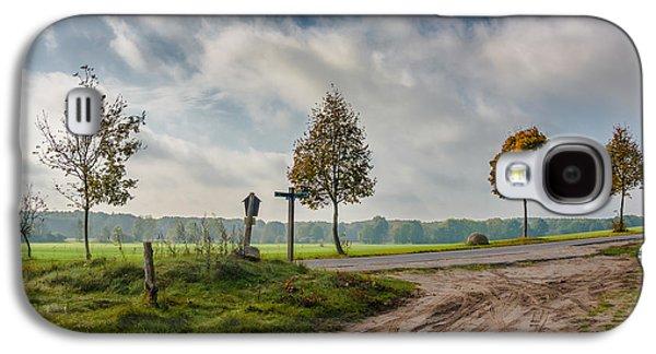 Mud Season Galaxy S4 Cases - Four on the crossroads Galaxy S4 Case by Dmytro Korol