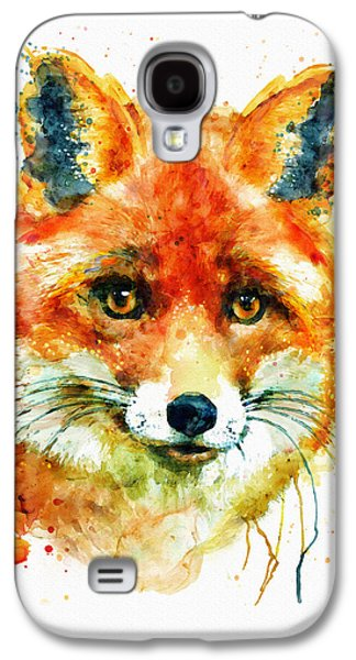 Fox Head Galaxy S4 Case by Marian Voicu