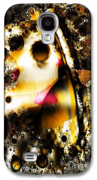 Aperture Galaxy S4 Cases - Fractal Apertures Galaxy S4 Case by Ron Bissett