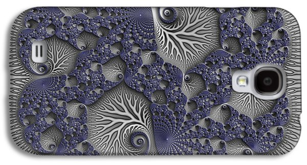 Business Galaxy S4 Cases - Fractal Biome Galaxy S4 Case by Manny Lorenzo