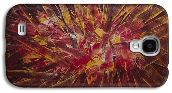 Colorful Abstract Galaxy S4 Cases - Fragments of my wishes Galaxy S4 Case by Siyavush Mammadov