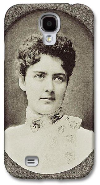 First Lady Drawings Galaxy S4 Cases - Frances Clara Folsom Cleveland Preston Galaxy S4 Case by Vintage Design Pics