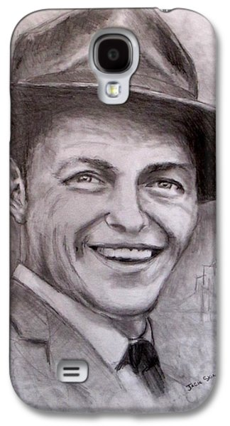 Jack Skinner Drawings Galaxy S4 Cases - Frank Galaxy S4 Case by Jack Skinner