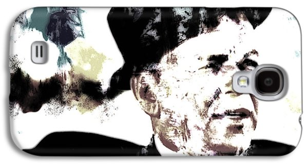 Frank Sinatra Paintings Galaxy S4 Cases - Frank Sinatra Galaxy S4 Case by Brian Reaves