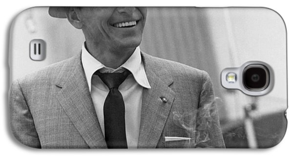 Frank Sinatra - Capitol Records Recording Studio #3 Galaxy S4 Case by The Titanic Project