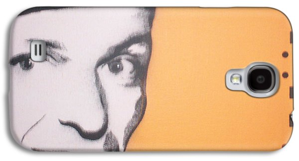 Frank Sinatra Paintings Galaxy S4 Cases - Frank Sinatra Galaxy S4 Case by Gary Hogben