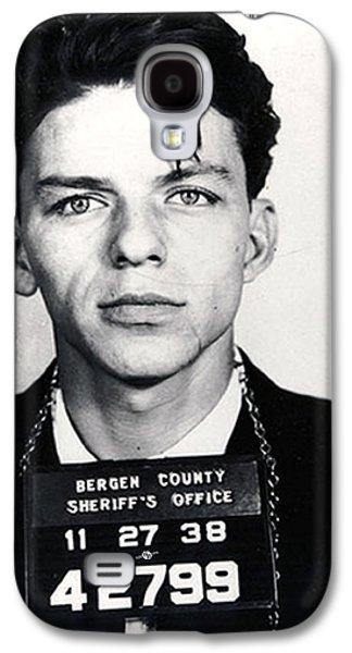 Frank Sinatra Mug Shot Vertical Galaxy S4 Case by Tony Rubino