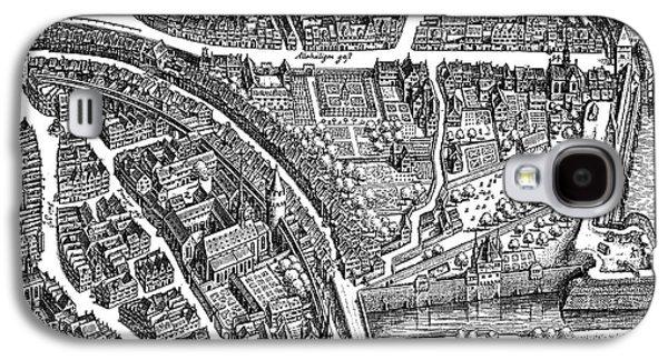 Frankfurt Am Main, 1628 Galaxy S4 Case by Matthaus Merian the Elder