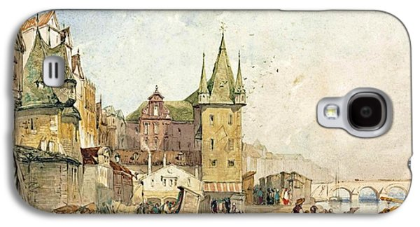 Frankfurt The Main Quay Galaxy S4 Case by William Callow