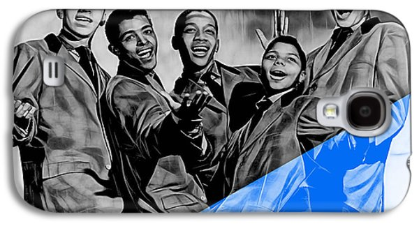 Frankie Lymon And The Teenagers Galaxy S4 Case by Marvin Blaine
