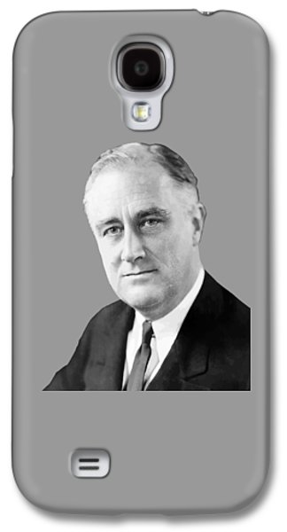 Democrats Galaxy S4 Cases - Franklin Delano Roosevelt Galaxy S4 Case by War Is Hell Store