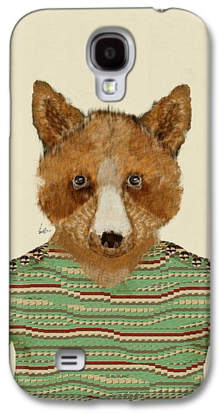 Fox Digital Galaxy S4 Cases - Franklyn Fox Galaxy S4 Case by Bri Buckley