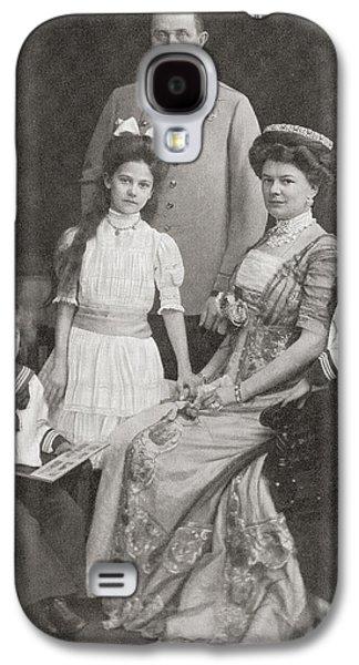 Austria Drawings Galaxy S4 Cases - Franz Ferdinand, 1863 Galaxy S4 Case by Vintage Design Pics