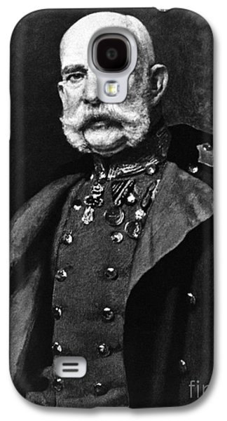 Personalities Photographs Galaxy S4 Cases - Franz Joseph I, Emperor Of Austria Galaxy S4 Case by Omikron