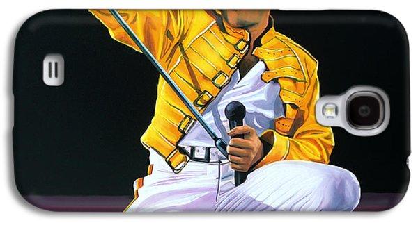 Freddie Mercury Live Galaxy S4 Case by Paul Meijering