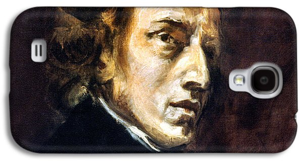Pianist Photographs Galaxy S4 Cases - Frederic Chopin Galaxy S4 Case by Granger