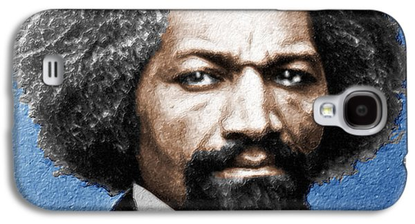 Frederick Douglass Painting In Color  Galaxy S4 Case by Tony Rubino