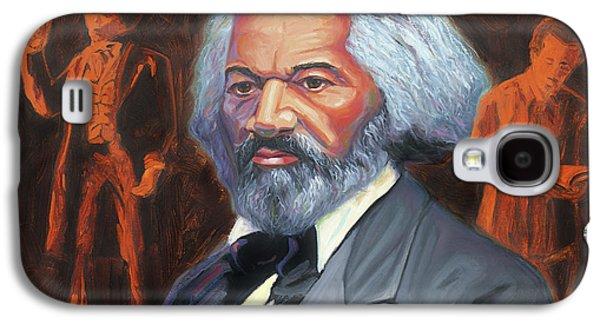 Frederick Douglass Galaxy S4 Case by Steve Simon