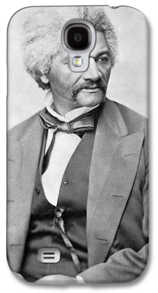 African-americans Galaxy S4 Cases - Frederick Douglass Galaxy S4 Case by War Is Hell Store