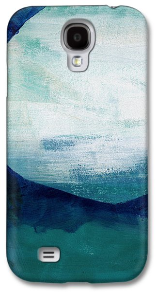 Geometric Abstract Art Galaxy S4 Cases - Free My Soul Galaxy S4 Case by Linda Woods