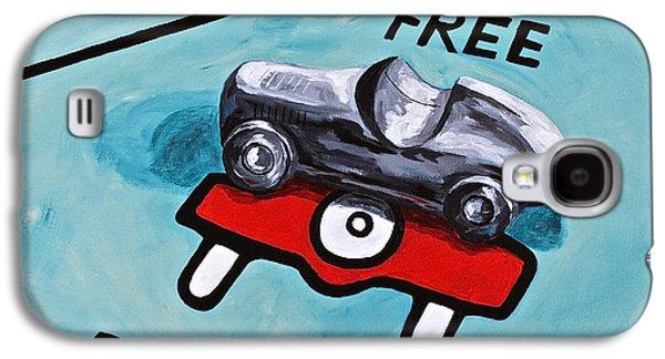 Free Parking Galaxy S4 Case by Herschel Fall