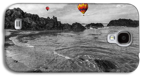 Beach Landscape Galaxy S4 Cases - Free Your Mind Galaxy S4 Case by Ian Mitchell